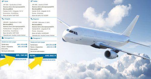 Montagem - Clean Reviews e Aerolíneas Argentinas, http://www.cleanreviews.co.uk/travel-leisure/