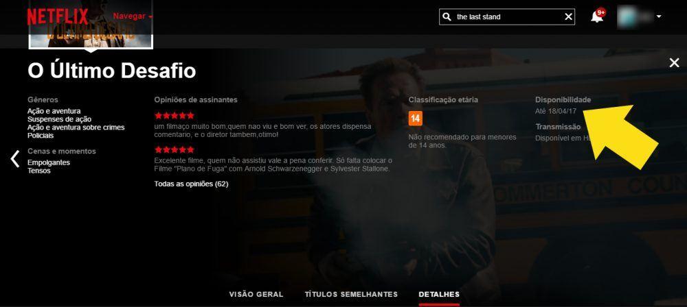 Reprodução | Netflix, http://www.netflix.com