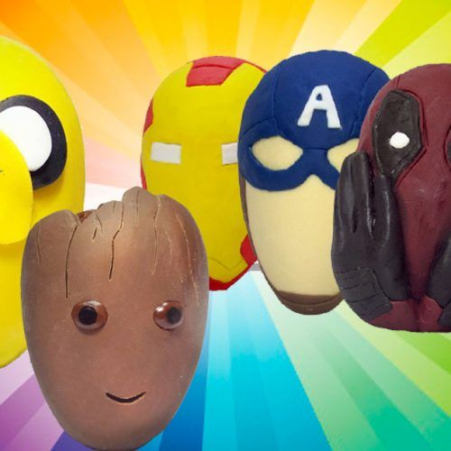 ovos de pascoa geek personagens