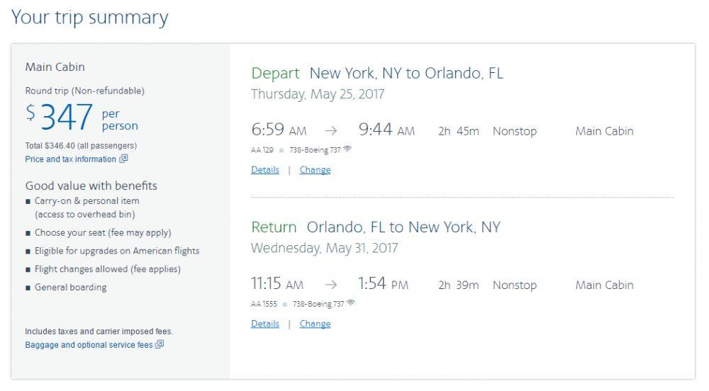 Reprodução - American Airlines, https://www.aa.com.br/homePage.do?locale=pt