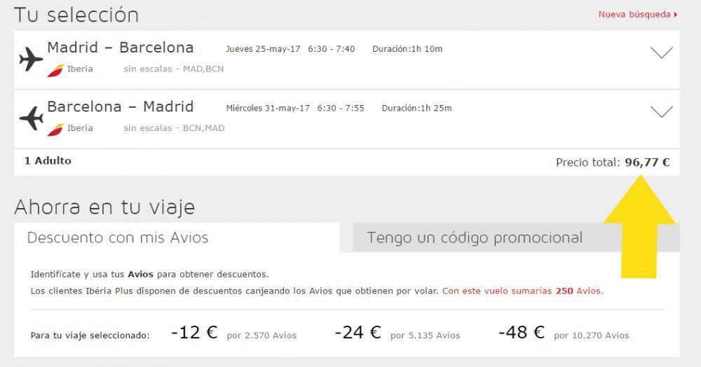 Reprodução - Iberia, http://www.iberia.com/