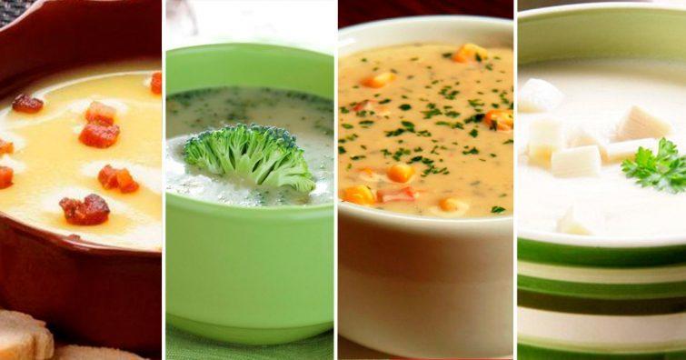 sopa creme caldo faceis de fazer