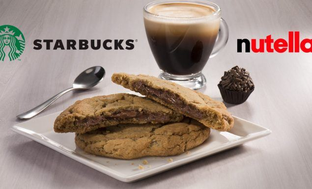 starbucks nutella