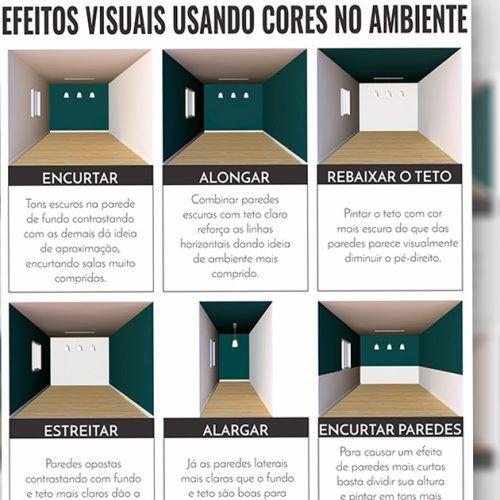 9 Truques para mudar o tamanho do ambiente sem precisar quebrar a parede
