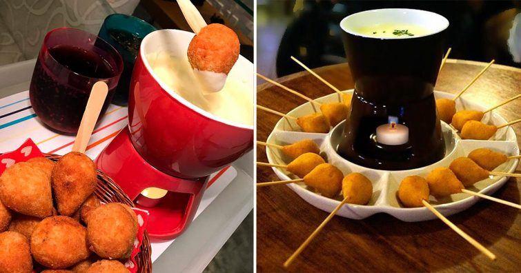 fondue coxinha