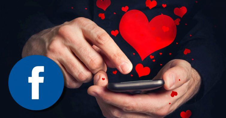 app relacionamento facebook
