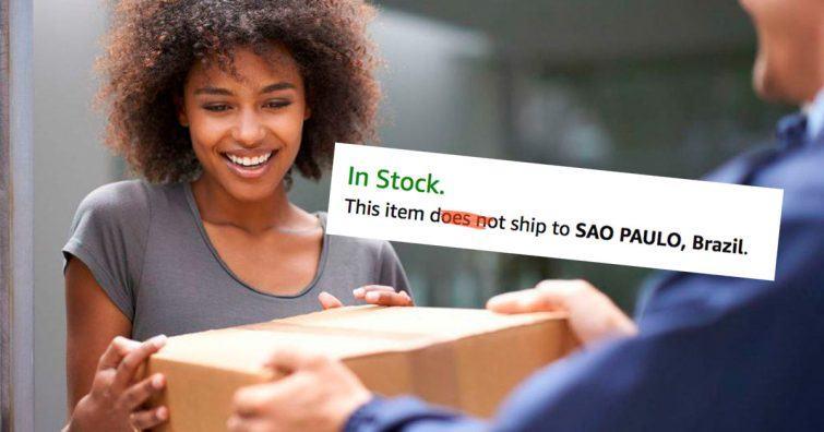 como comprar em lojas que nao entregam para o brasil