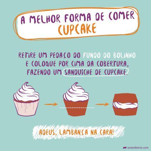 sos-solteiros-melhor-forma-comer-cupcake