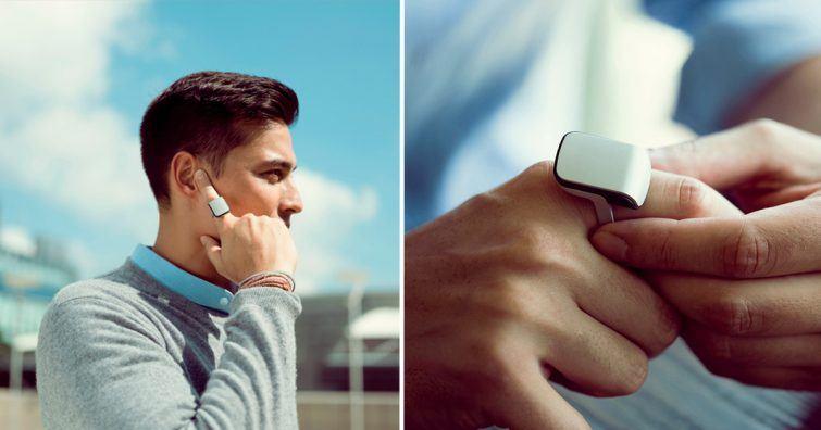 telefone de dedo
