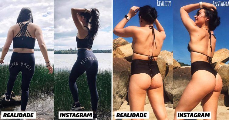 blogueira mentira verdade fotos