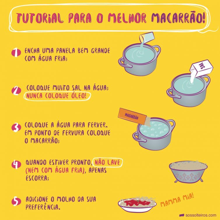 sos-solteiros-prepara-macarrão