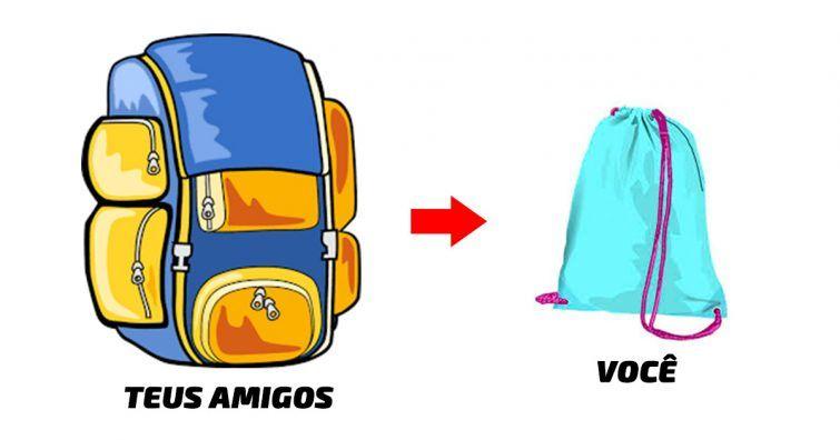 como fazer as roupas caberem numa mochila pequena mochilao