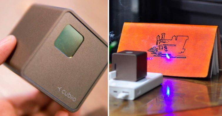 laser impressao objetos comida