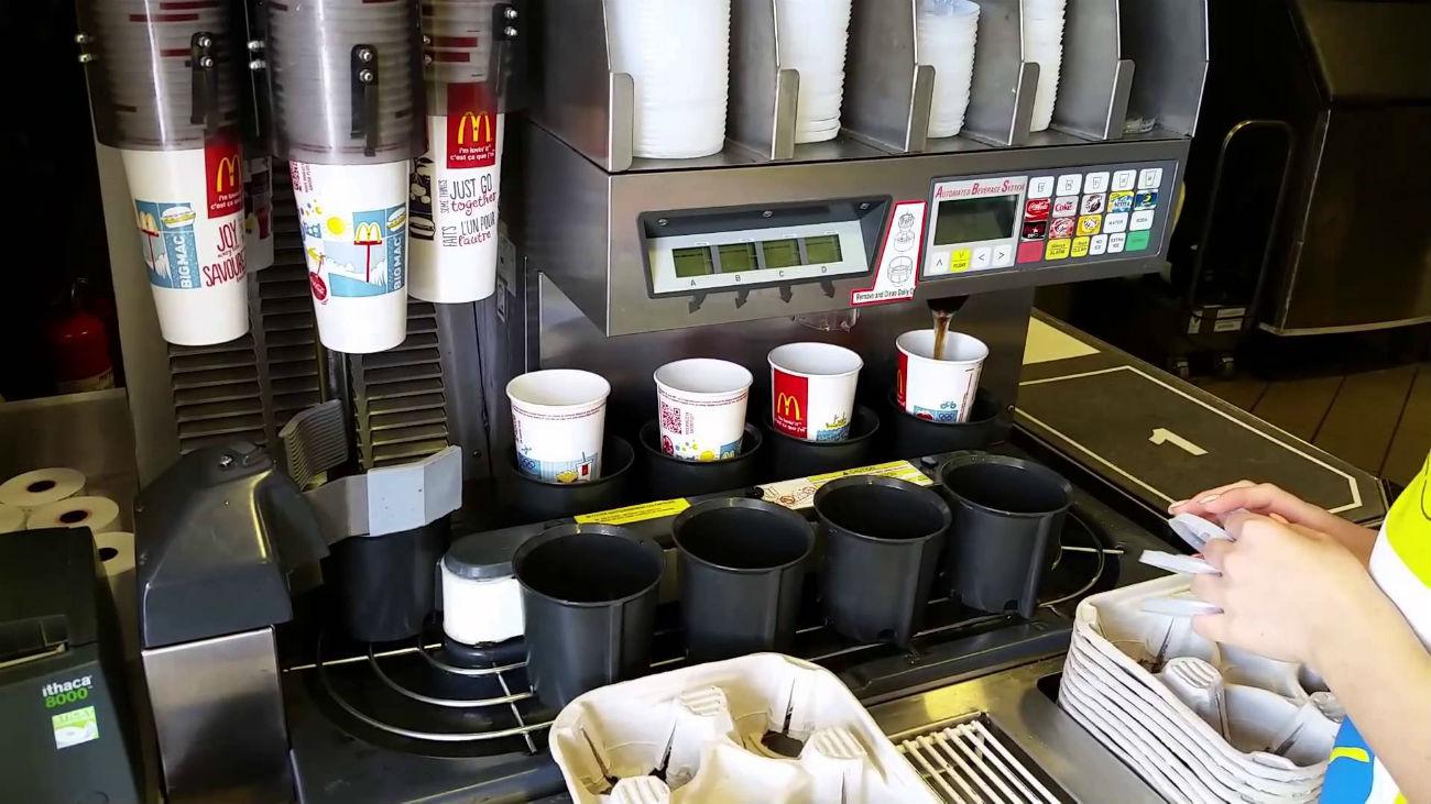 J 225 Percebeu Que Coca Cola Servida No Mcdonald S 233 Mais