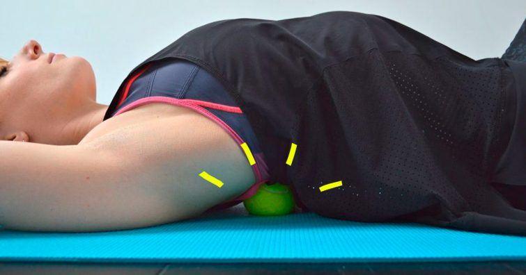 automassagem massagear a si mesmo