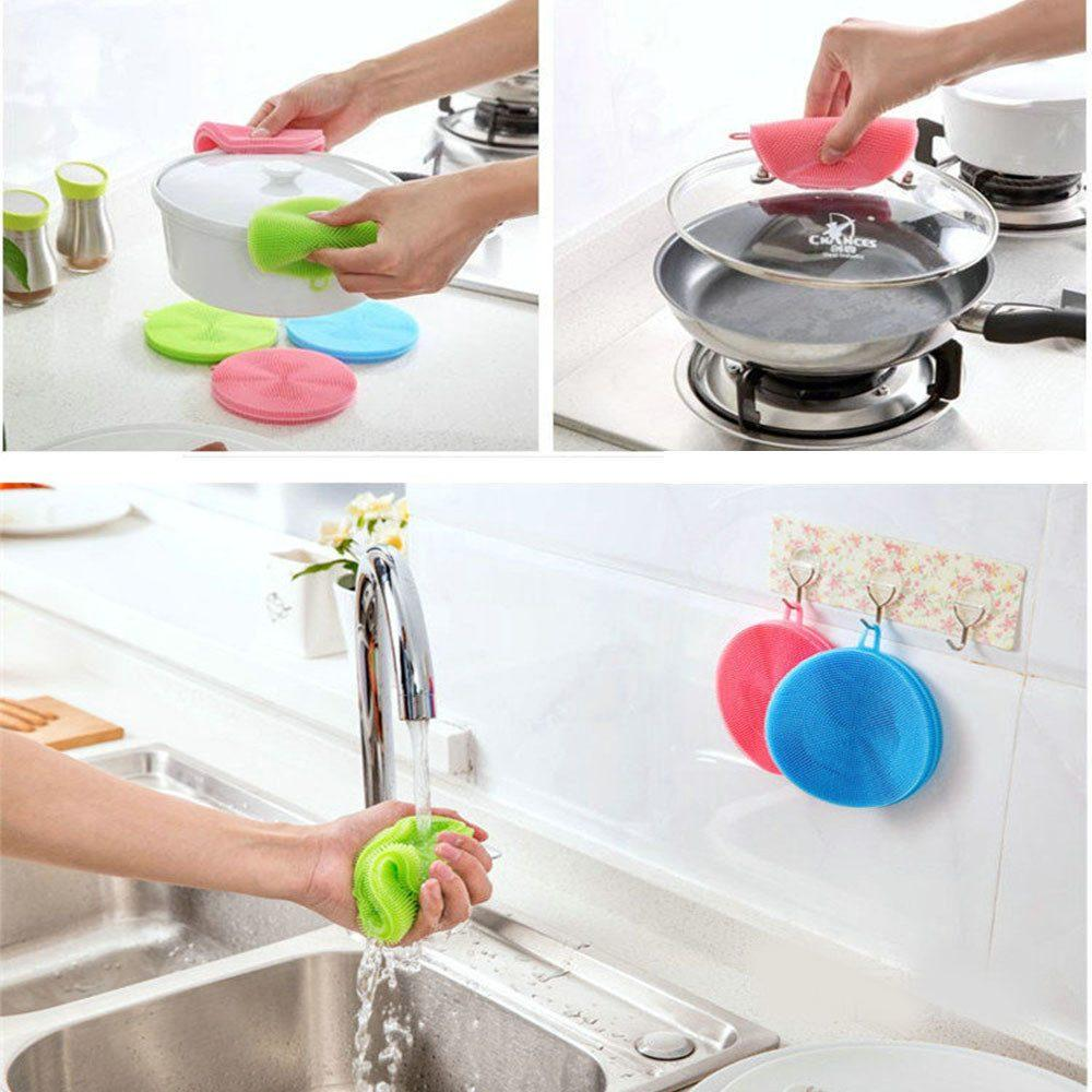 Amina Salah, https://www.aminasalah.com/product/silicon-antibacterial-sponge-scrubber-multifunction-cleaning-brush-scouring-pad-silicon-dish-sponge-kitchen-pot-cleaner-washing-tool