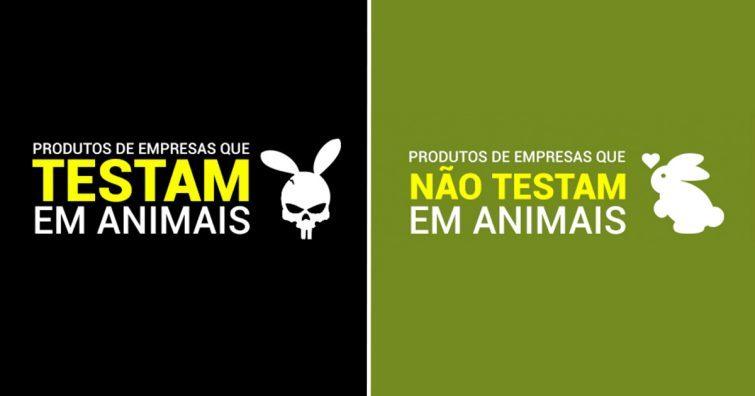 lista empresas testam animais nao testam vegano vegetariano