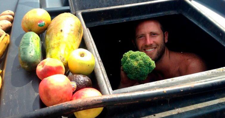 lixo desperdicio comida