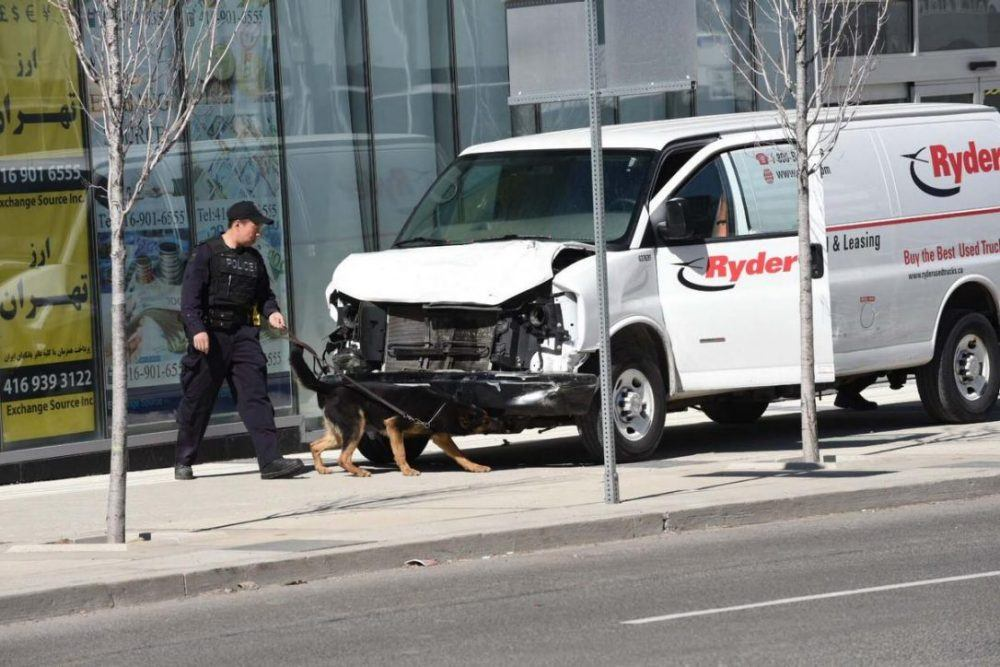 Samaja Live, http://english.samajalive.in/van-plows-into-toronto-crowd-in-deliberate-act-leaving-10-dead/