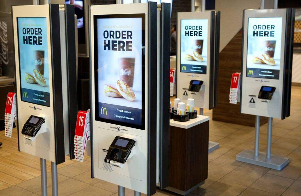 Forbes, https://forbes.com/sites/edrensi/2018/07/11/mcdonalds-says-goodbye-cashiers-hello-kiosks/?utm_source=FBPAGE&utm_medium=social&utm_content=1684607633&utm_campaign=sprinklrForbesMainFB#5add65d1674c