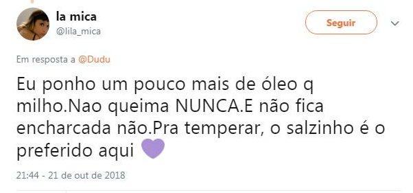 Twitter, https://twitter.com/lila_mica/status/1054156459183878147