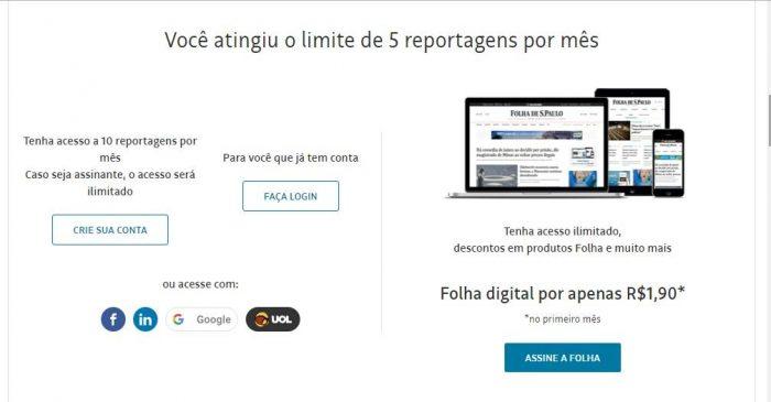 Folha de S. Paulo, https://www.folha.uol.com.br/