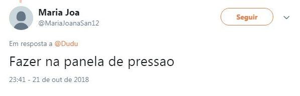 Twitter, https://twitter.com/MariaJoanaSan12/status/1054185850458832896