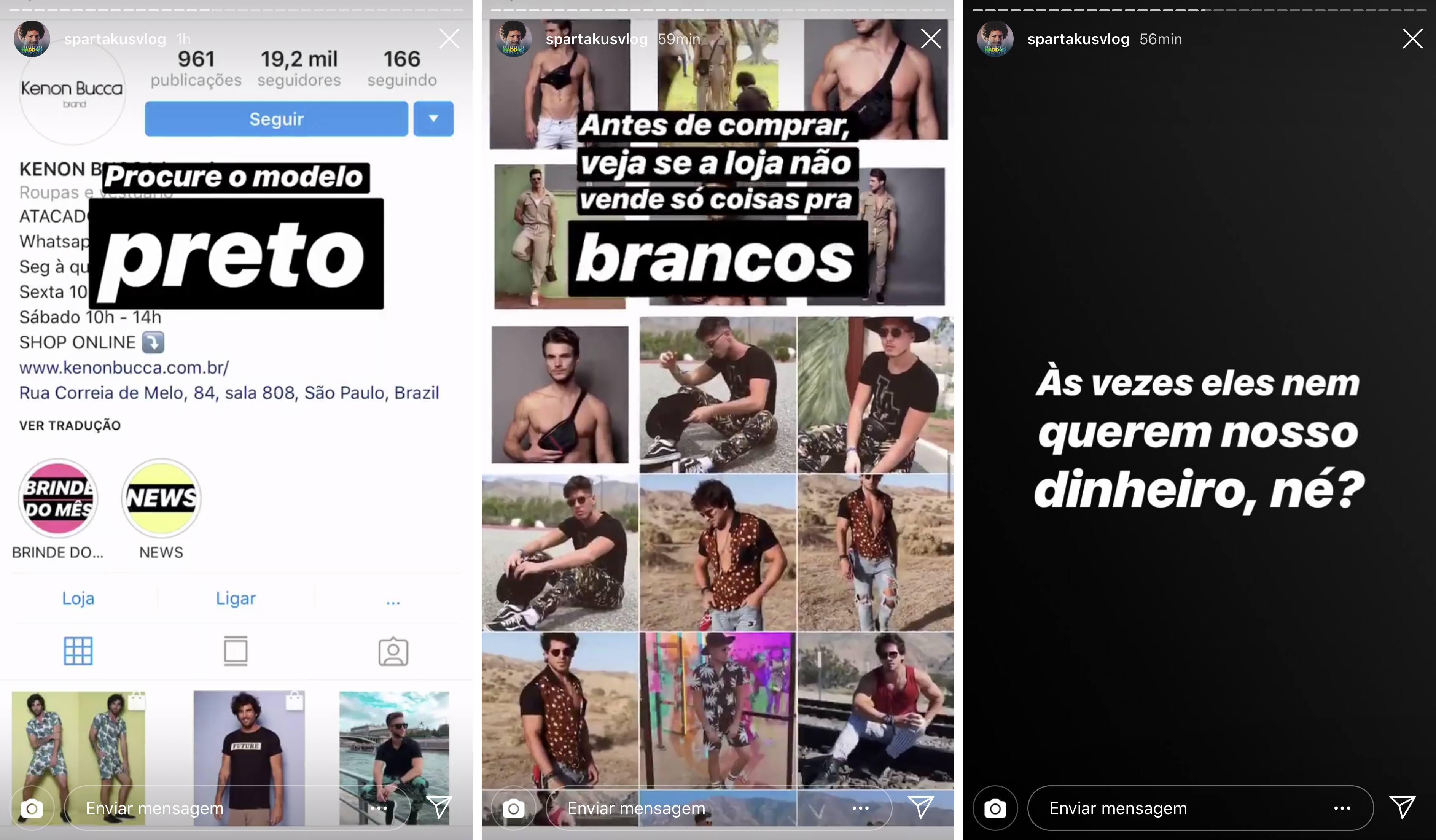 Spartakus Vlog - Instagram, https://www.instagram.com/spartakusvlog/?hl=pt-br